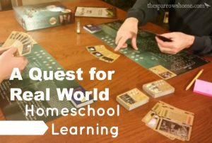 Looking for ways to integrate real world learning into your homeschool?