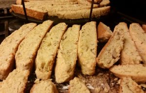 This Almond Biscotti is not hard to make, even though it involves several steps.