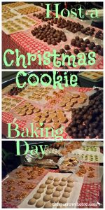 Want to have a variety of Christmas cookies, but don't want to make them all yourself? An easy plan for hosting a cookie baking day with friends.