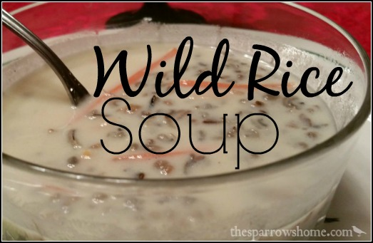 Not Your Average Wild Rice Soup