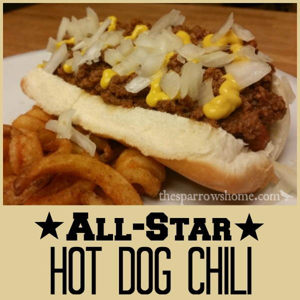 Easy hot dog chili recipe to make the best chili dogs ever!