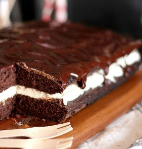 This Whoopie Pie cake is just one of the long list of chocolatey chocolate recipes you'll find here.