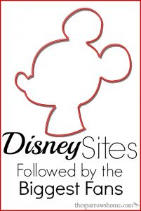 Are you a huge Disney fan? Looking for Disney sites to stay plugged in? We've got you covered.