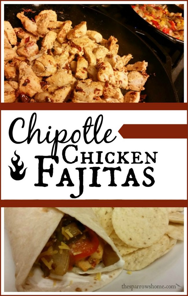These chipotle seasoned chicken fajitas are one of the quickest meals to put together on a weeknight. It's so easy, it's a stretch to even call it a recipe.