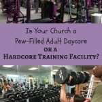 When we create a judgement free church, are we dooming members to failure? The Planet Fitness model will not result in changed lives, reconciled to God.