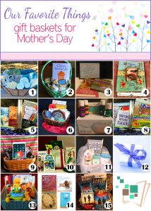 Gift Basket Giveaways for Mother's Day!