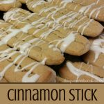 Your family is going to love these cinnamon stick cookies.
