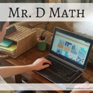 A review of Mr. D Math Online Math Curriculum. (Hint: It's THE BEST math curriculum we've found!)