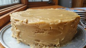 Easy caramel cake recipe.