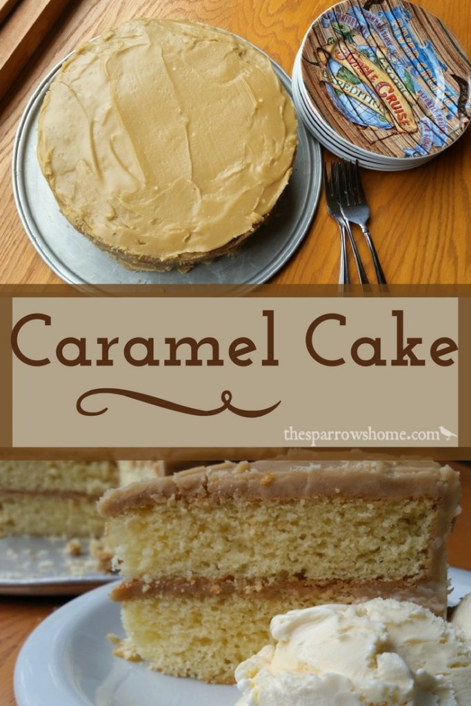 Peachy Caramel Cake Or Brown Sugar Cake If You Think You Dont Like Funny Birthday Cards Online Necthendildamsfinfo