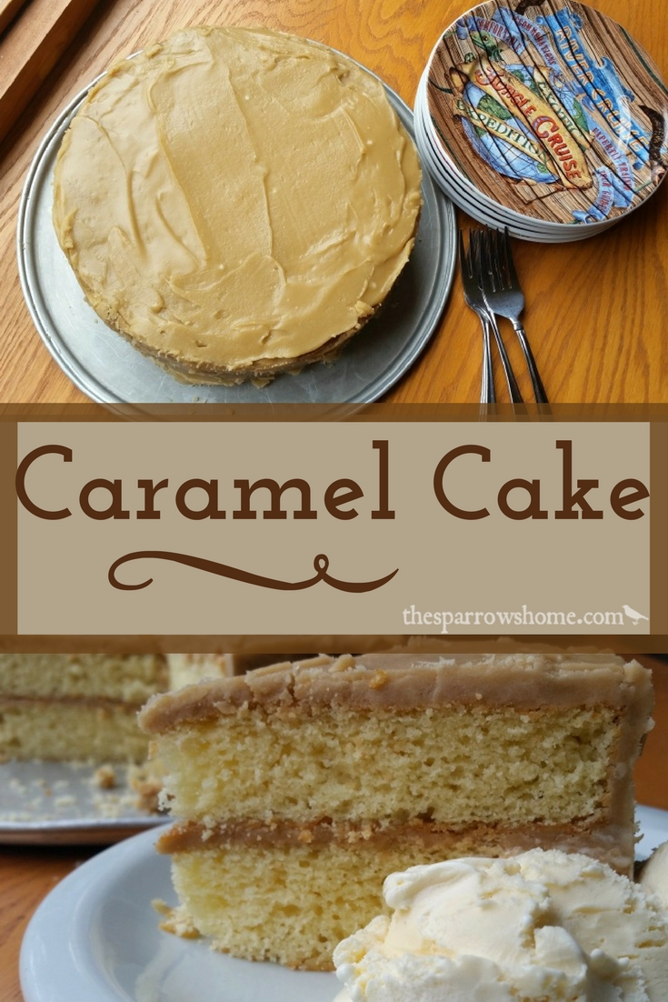 This easy caramel cake melts in your mouth! It will be an instant favorite!