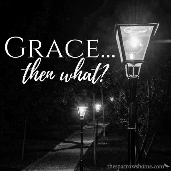After we've been shown grace, then what? We light the path for those behind us.