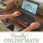 A review of Mr. D Math Online Math Curriculum. (Hint: It's THE BEST math curriculum we've found!)