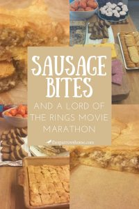 Savory sausage bites. An easy recipe for brunch, snack, or appetizer.
