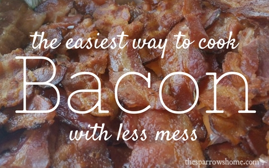 Easy Bacon in the Oven
