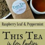 This Tea is for Ladies. You could experience less cramping, lighter flow, and more regulated periods. Hand blended organic raspberry and peppermint leaf.