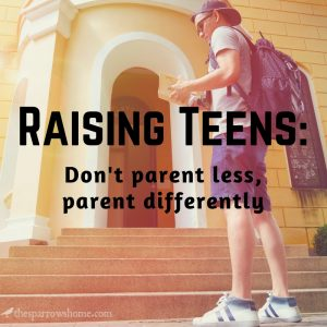 Mom, please don't stop doing things for your teen. They can still grow into responsible adults...promise.