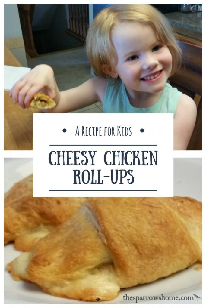 This is an easy kids recipe. Older kids could make this on their own, and it's simple enough for little to help with too!