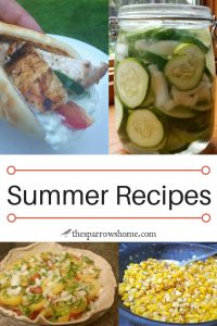 A collection of summer recipes