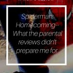Spiderman: Homecoming. I was shocked what the parental reviews missed.