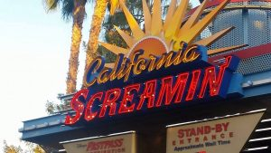 California Screamin' is my all time favorite ride ever. A perfect reason to visit Disneyland!