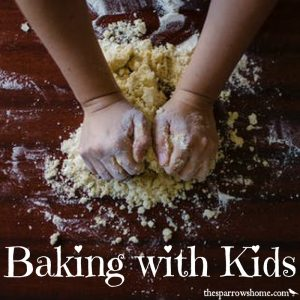 Baking with kids isn't just fun, it brings lots of benefits.