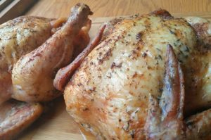 Foolproof roasted chicken