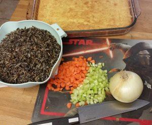 Wild Rice & Cornbread Stuffing