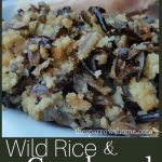 This wild rice and cornbread stuffing is easy to make and is a delicious twist on a classic.