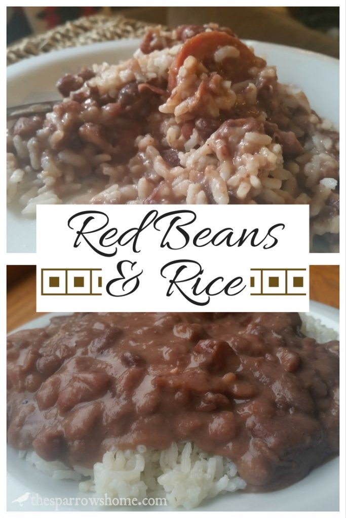Making red beans & rice is easy, albeit a bit time consuming. But every bite is worth it. This simple recipe makes a big pot. Leftovers freeze beautifully!