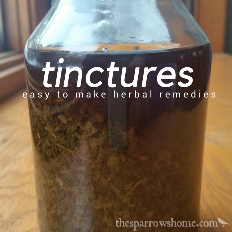 Tinctures: One of the most effective ways to take herbal medicine
