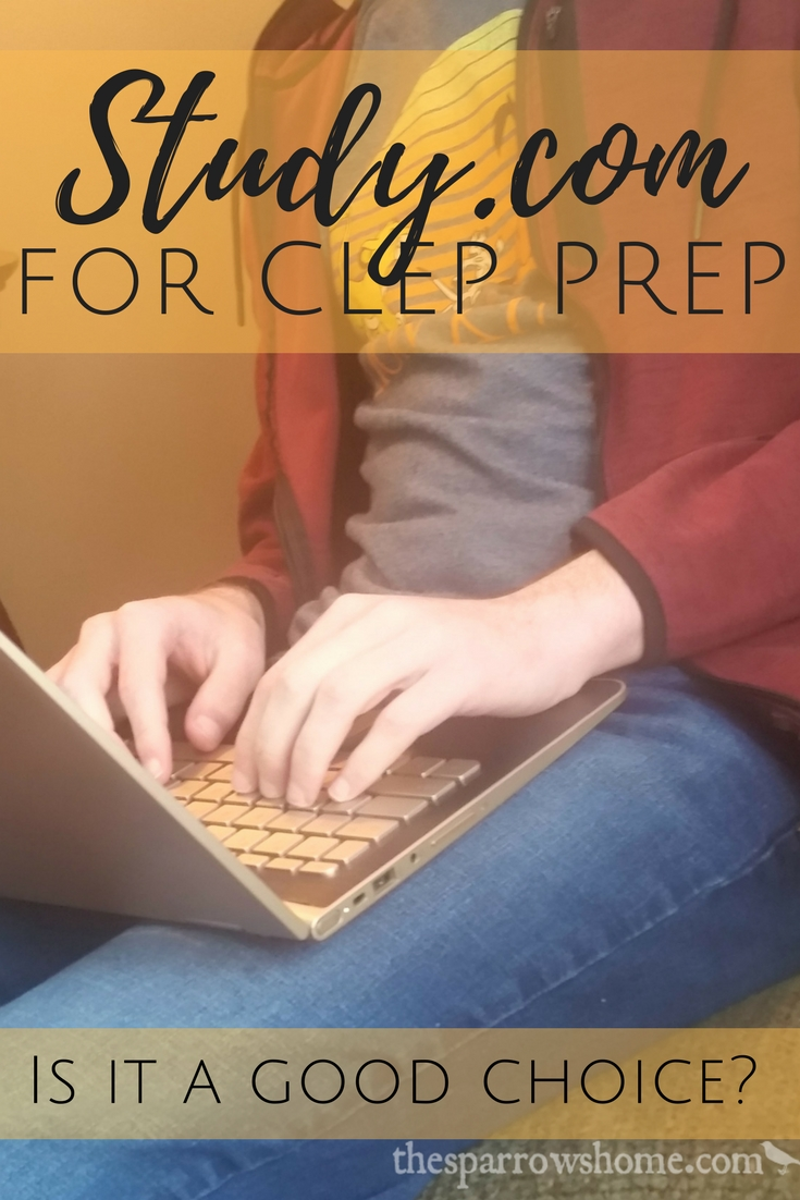 An honest review of Study.com as a resource for CLEP test prep.