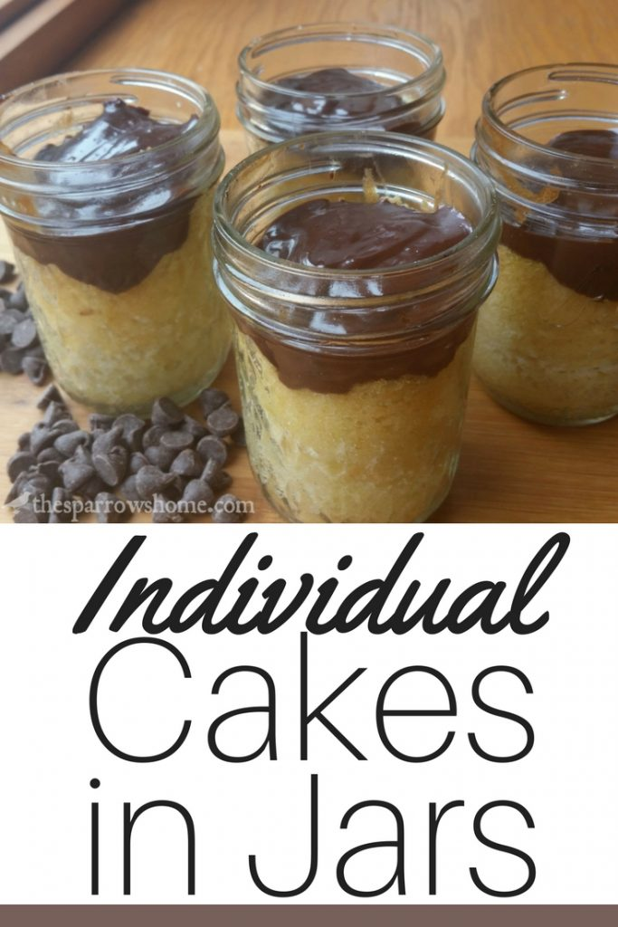 Making individual cakes in jars is a way to serve a quick dessert that is still special and delicious.