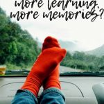 What's the secret to family trips with more learning, more memories?