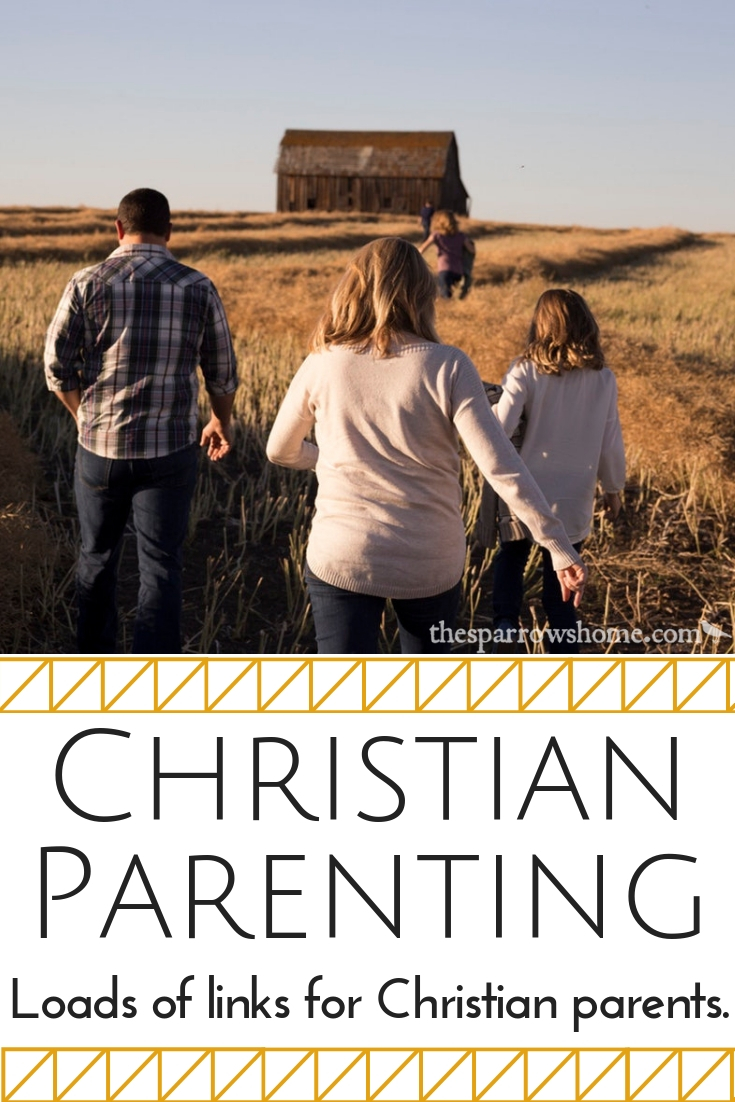 Loads of links for Christian parents. Raising kids with a faith that lasts. Parenting tips & help for raising teens with a Biblical worldview.