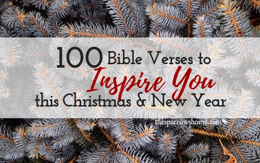 100 Bible verses to inspire you this Christmas and New Year | The ...