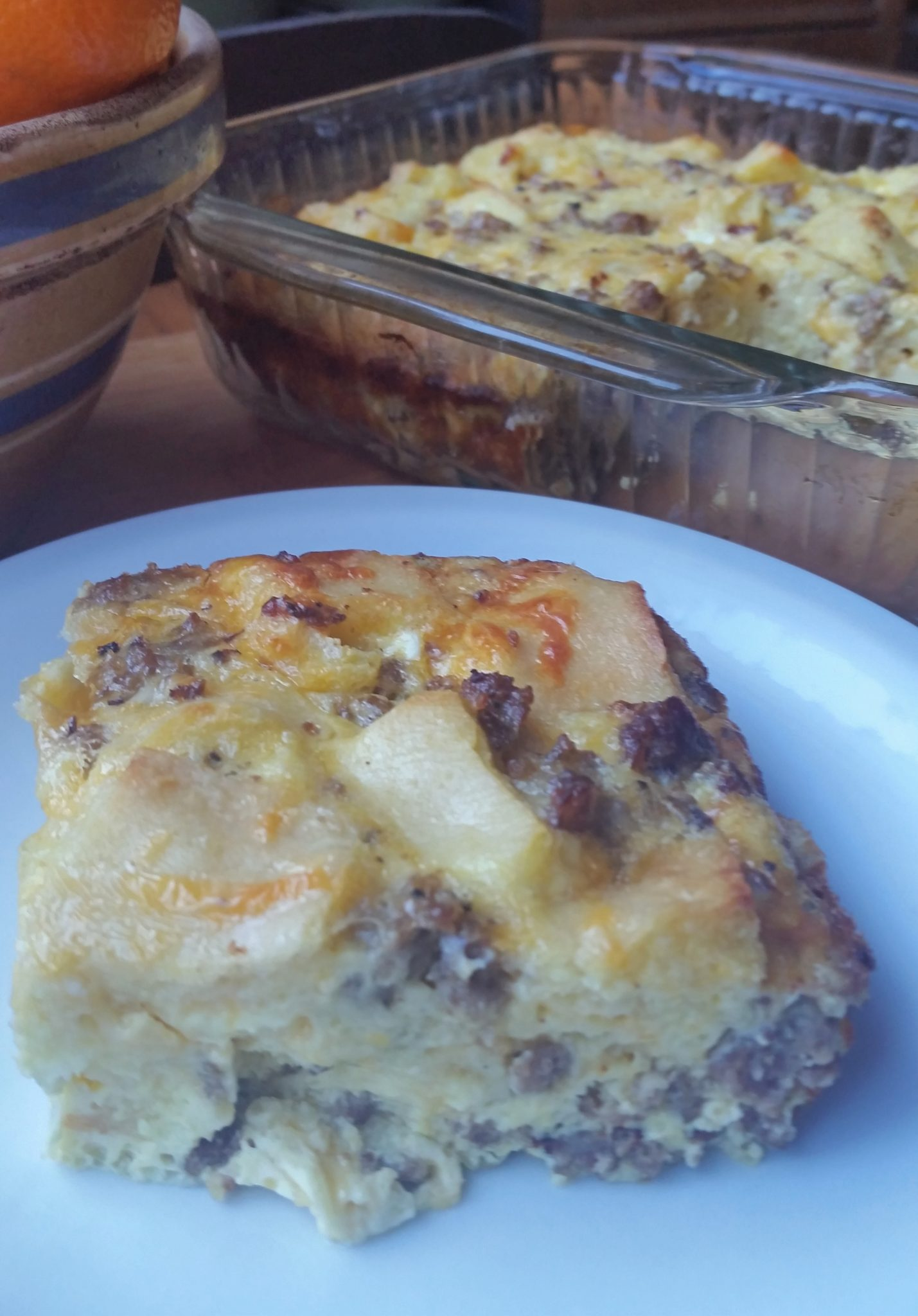 Easy Sausage Egg Bake