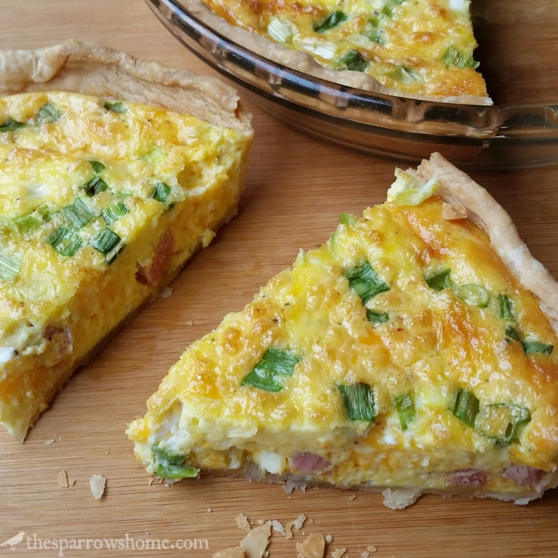 A Quiche to Build a Dream On