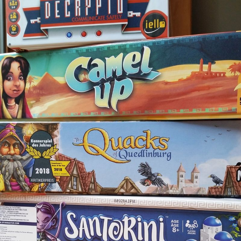 The latest board games we can't stop playing | The Sparrow's Home