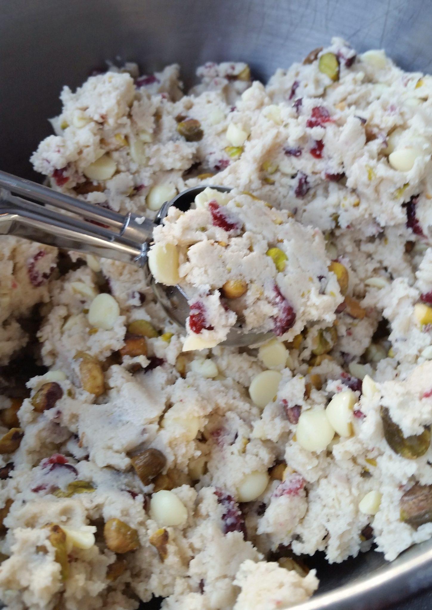 pistachio cranberry cookie 8