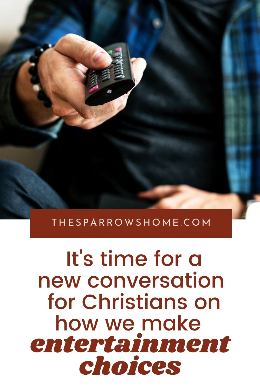 A new perspective on how Christians make entertainment choices and engage with the hypersexualized media that pervades our culture.
