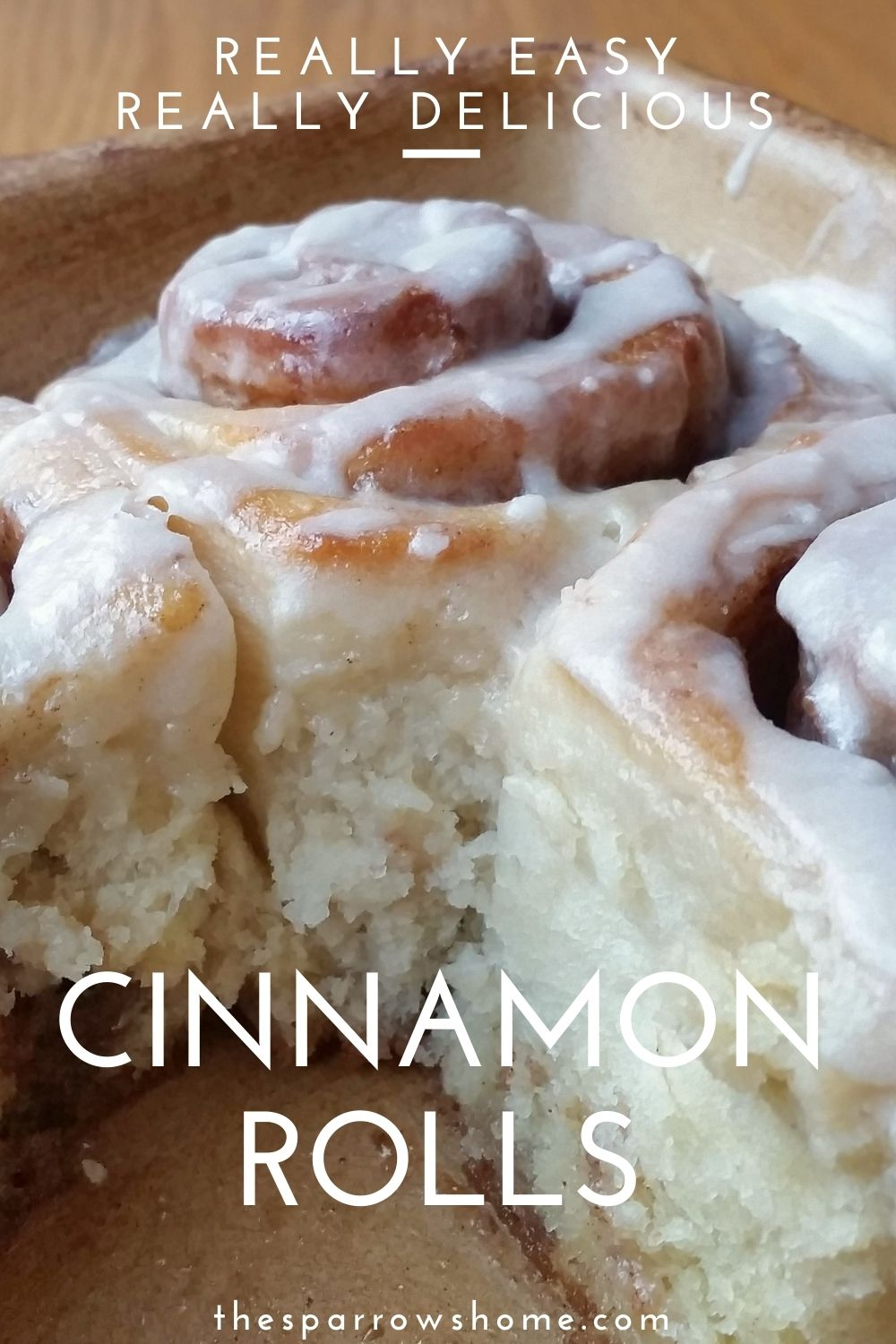This simple recipe can be made even by a complete beginner but is still my go-to recipe for the very best cinnamon rolls ever. Soft and gooey, with a sweet, maple-flavored frosting they are everyone's favorite!